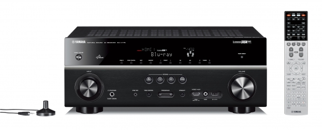 yamaha rx v500d av receiver mit dab dab radio. Black Bedroom Furniture Sets. Home Design Ideas