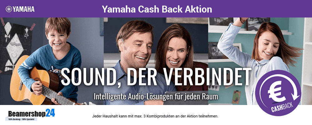 Yamaha Cash Back Aktion