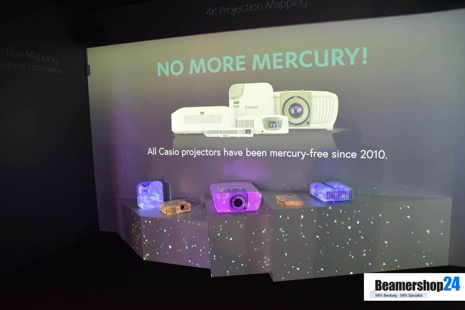 Casio ISE 2018 No More Mercury