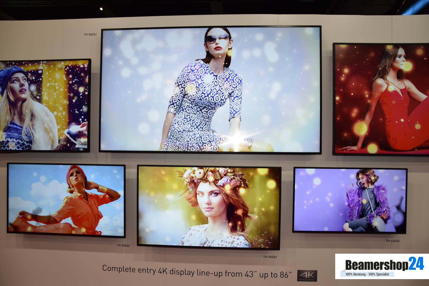 Panasonic ISE 2018 4K Displays