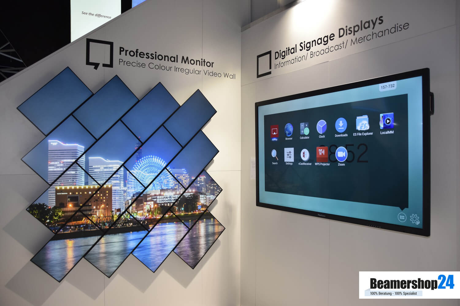 ViewSonic ISE 2018 Displays