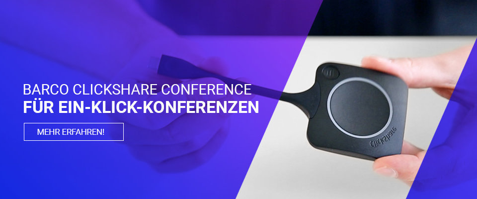 barco clickshare conference wireless conferencing system