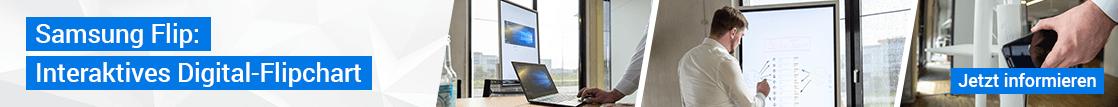 Samsung Flip: Interaktives Digital-Flipchart