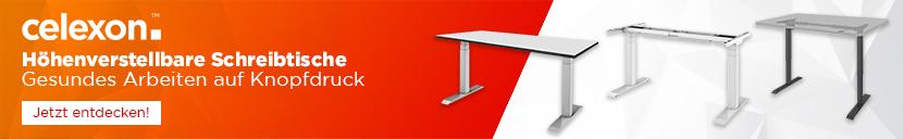 celexon: Höhenverstellbare Schreibtische