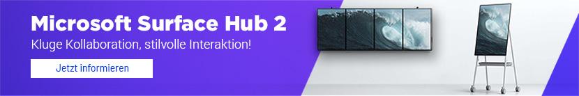 Banner Microsoft Surface Hub
