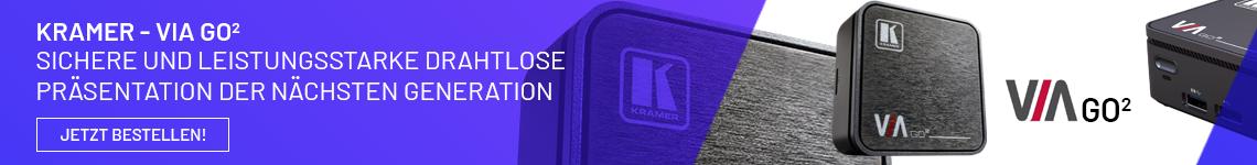 Kramer VIA GO² - Drahtloses Präsentationssystem