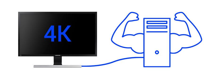 4K-Monitor Voraussetzungen