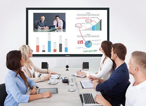 Display Lösung im Konferenzraum