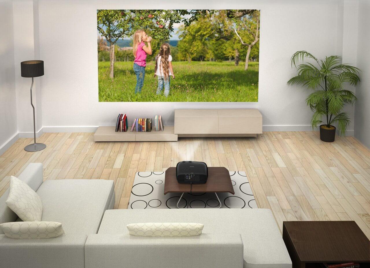 Leinwand Nutzung im Heimkino oder Wohnzimmer