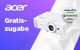 Acer Gartiszugabe Aktion 2021