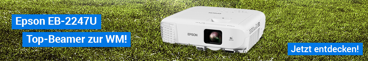 Epson EB-2247U | Top-Beamer zur WM!