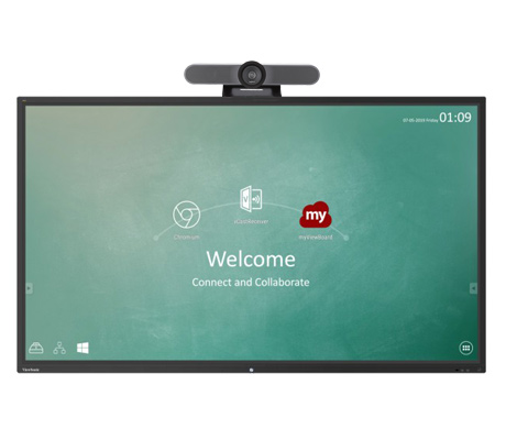 Viewsonic IFP7550-2EP + Logitech MeetUp