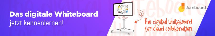 Das digitale Whiteboard jetzt kennenlernen!