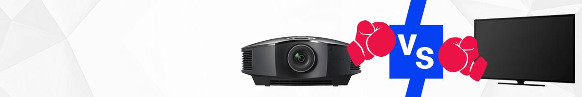 Beamer oder Fernseher?   Die Vor- und Nachteile von Projektor und TV-Gerät