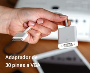 Adaptador de 30 pines a VGA