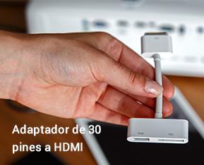 Adaptador de 30 pines a HDMI