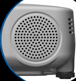 Beamer mit integriertem Lautsprecher