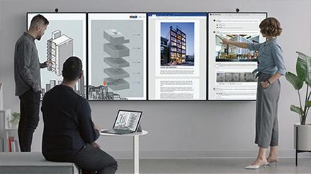 Microsoft Surface Hub2 - Speziell für Teams entwickelt