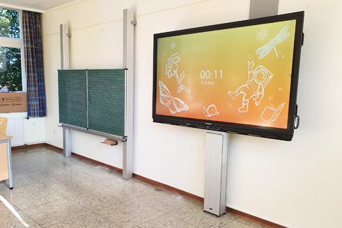 Umsetzung der individuellen Klassenraum- & Schullösungen