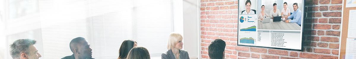 Die Sharp PN-Q Serie   Optimal für Signage & Meetingräume