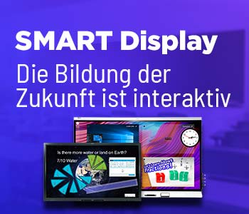 SMART Displays: Die Bildung der Zukunft ist interaktiv