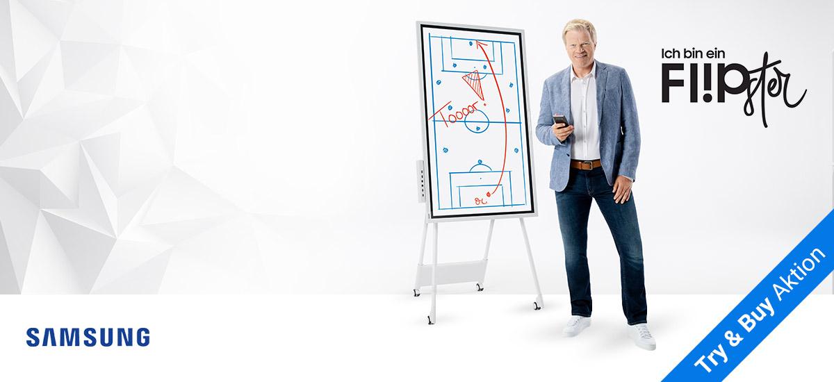 Samsung Flip - Interaktives Digital-Flipchart