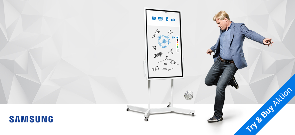 Samsung Flip - Interaktives Digital-Flipchart
