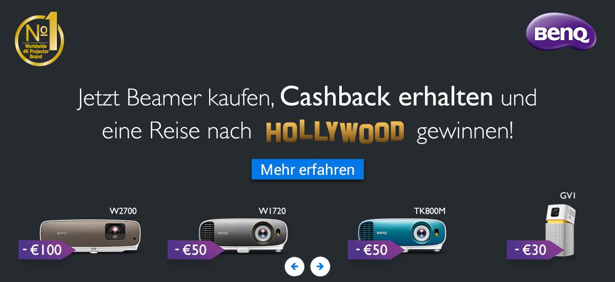 BenQ Cashback Aktion